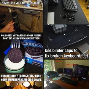 Incredibly useful Life hacks pack
