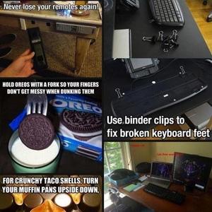 Incredibly useful Life hacks pack