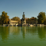 The pond at Retiro park