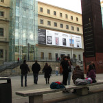 Plateau in front of Reina Sofia museum
