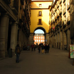 Arc that leads to Plaza Mayor