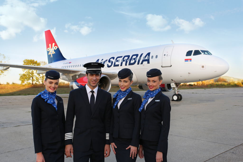 This is AirSERBIA, the new flag carrier of Serbia