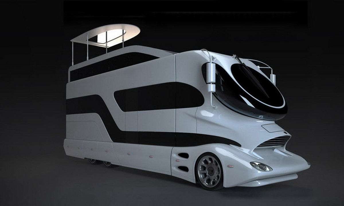"""Palace on Wheels"" camper"