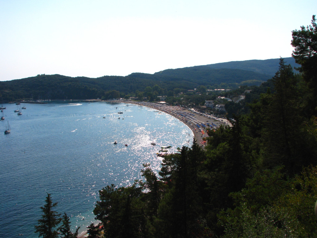 Panorama of Valtos Beach
