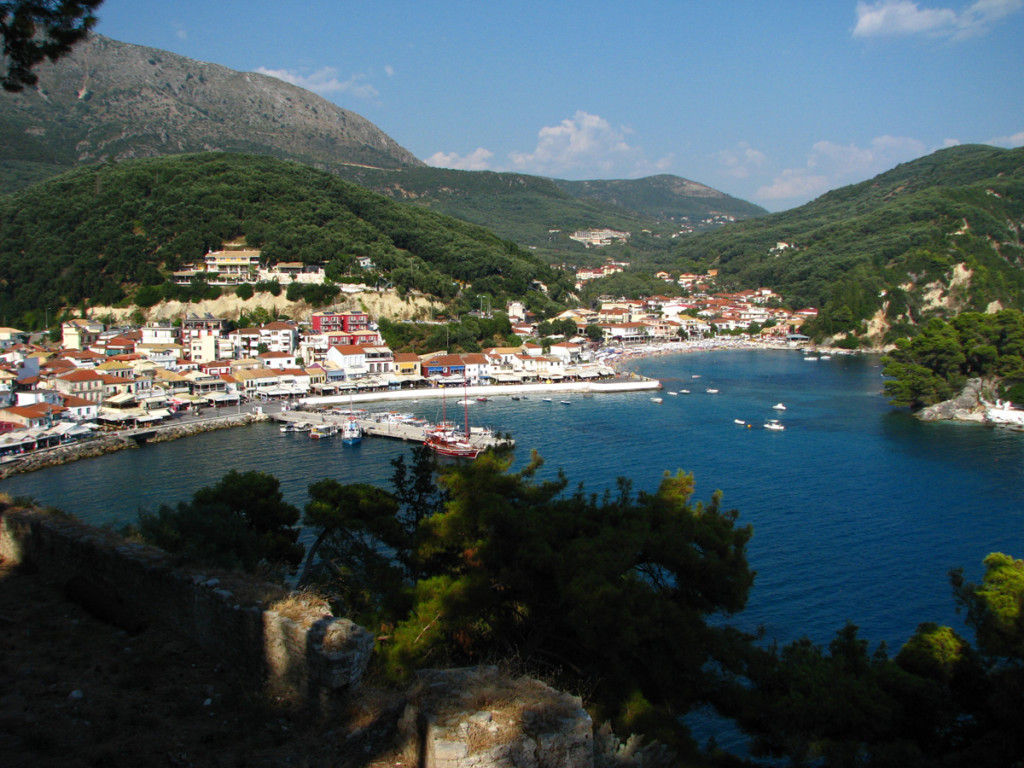 Parga seen from the castle
