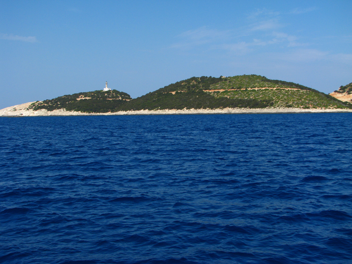 Southern point of Lefkada