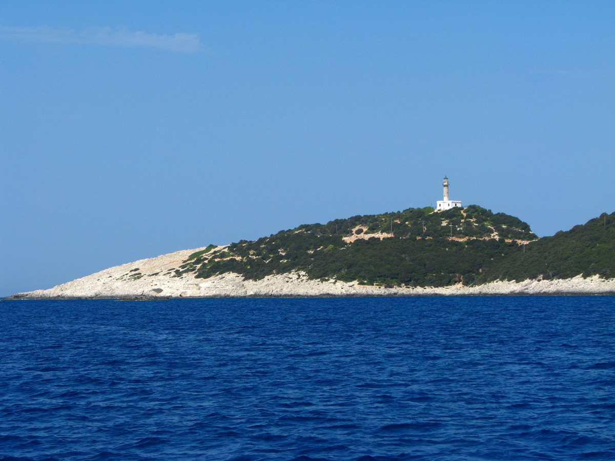 Lighthouse at Lefkada