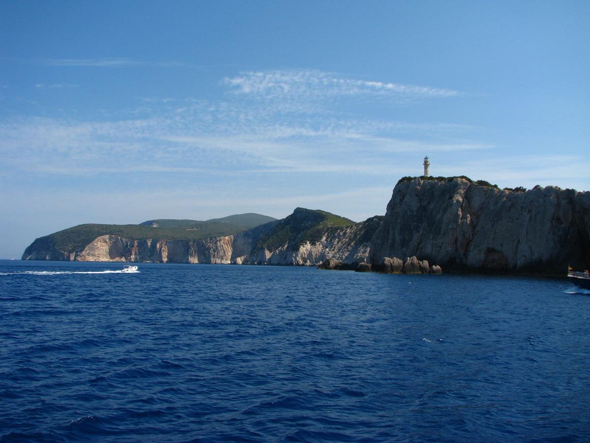 South of Lefkada