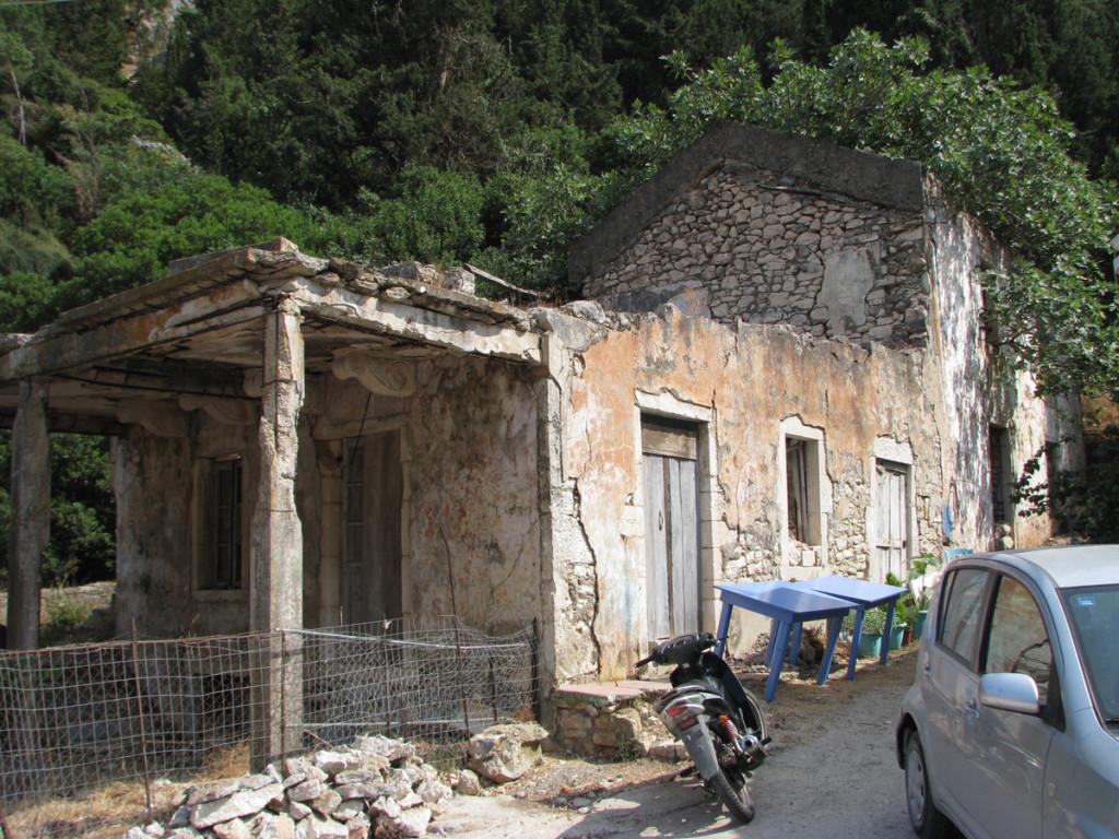 Ruins in Frikes, Ithaca