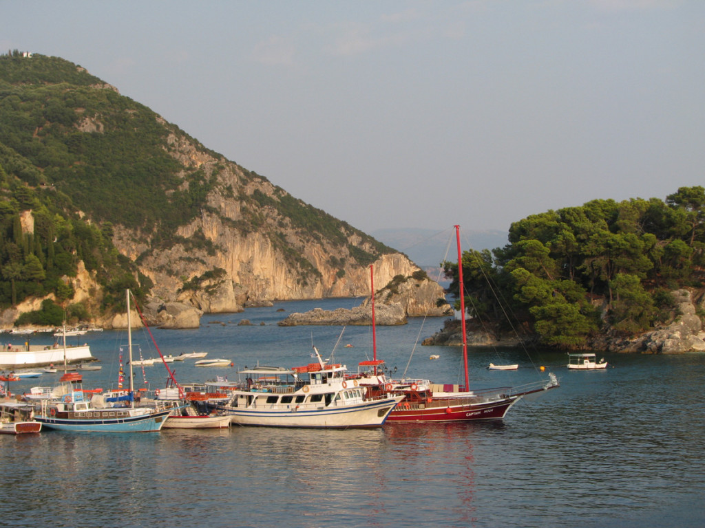 Parga port