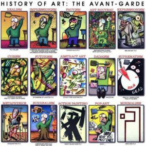 History of Modern Art the Fun Way – Man Hunting Fly