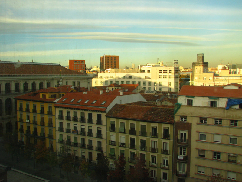 Rooftops from Reina Sofia museum