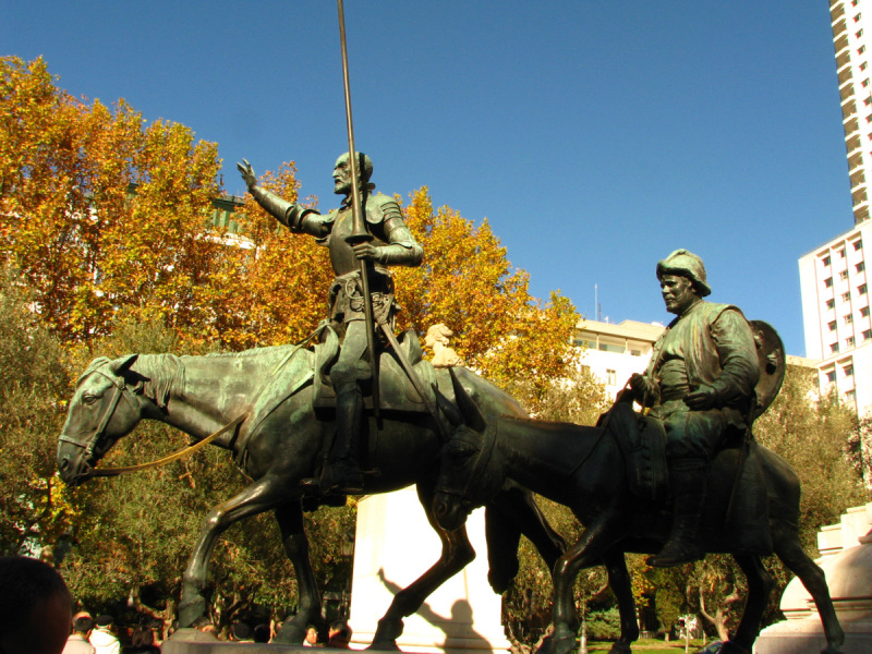 Monument to Don Quijote