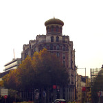 Interesting building in downtown Madrid