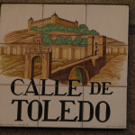 Decorativ street signs - Calle de Toledo
