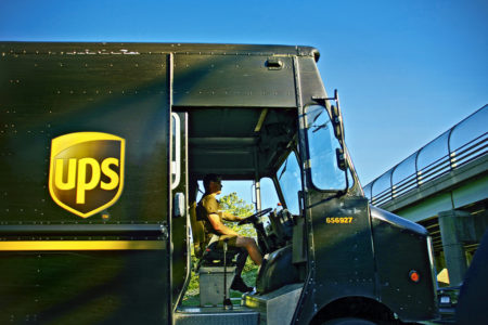Spend less fuel by only turning right. UPS does!