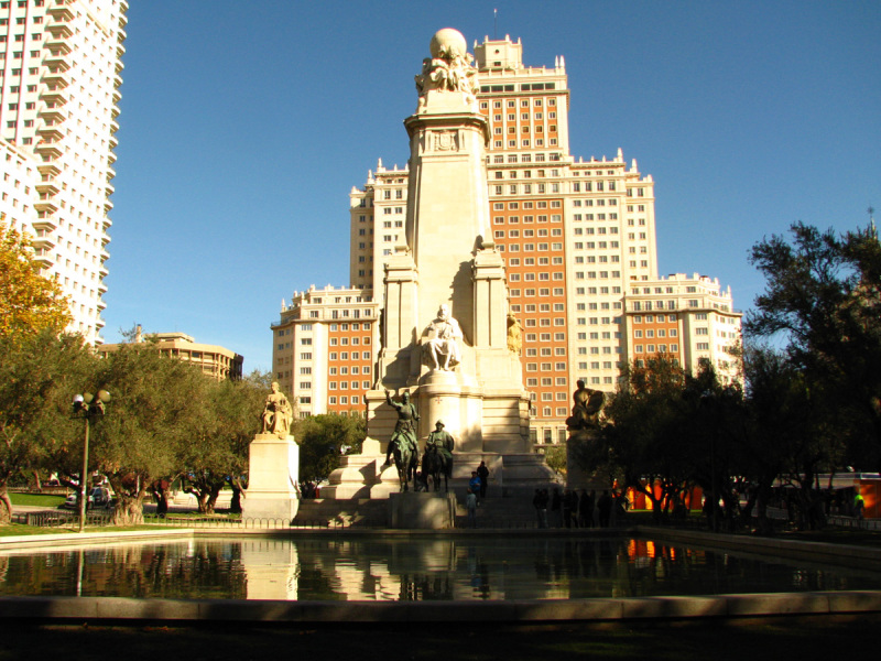 Monument to Miguel de Cervantes