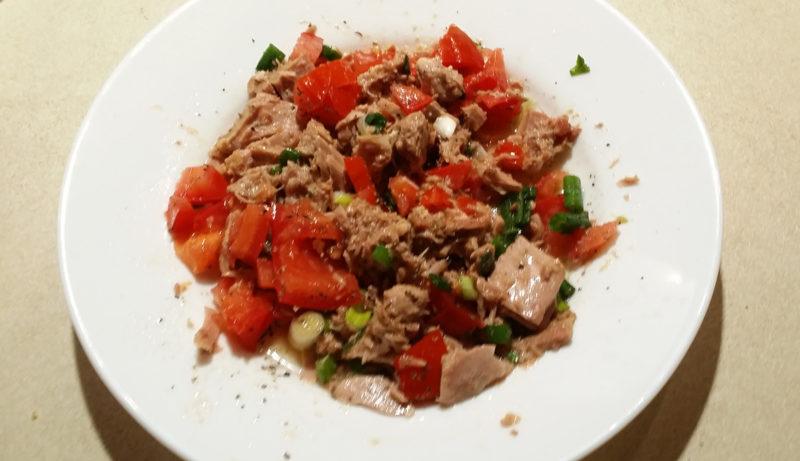 Tuna & Tomato Salad